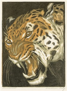 leopard by norbertine bresslern-roth
