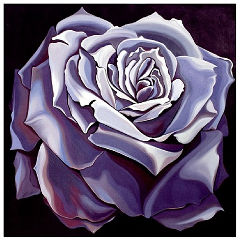 violet rose by lowell nesbitt