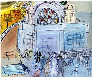 carnaval by raoul dufy