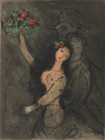 programme cover by marc chagall