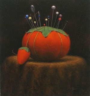 the milliner's pincushion (sold) by dan brown