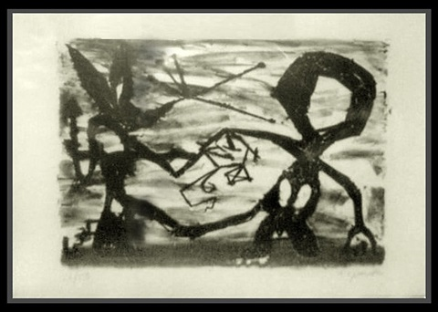 idea for sculpture #3 by a.r. penck