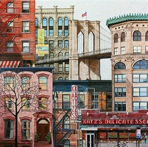 brooklyn bridge by norma johns
