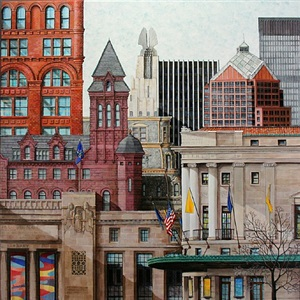 city view by norma johns