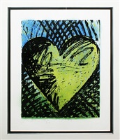 a sunny woodcut by jim dine