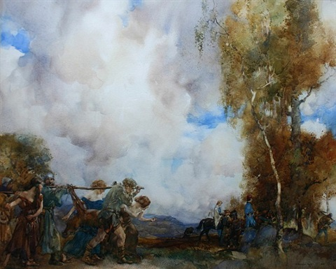 the return by william russell flint