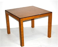 games table by john widdicomb furniture (co.)