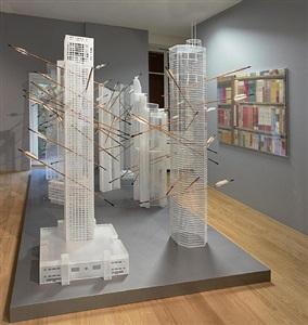 installation (deuxième salle) by lu hao