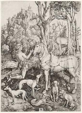 saint eustace by albrecht dürer