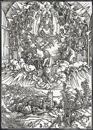 st. john before god and the elders by albrecht dürer