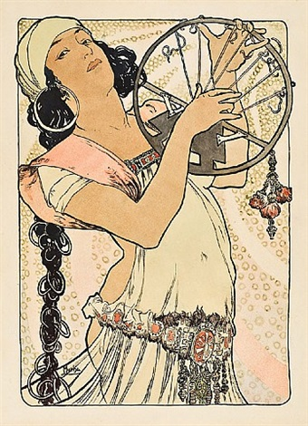 salome by alphonse mucha