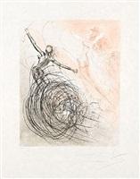 femmes dans les vagues (women in the waves) by salvador dalí