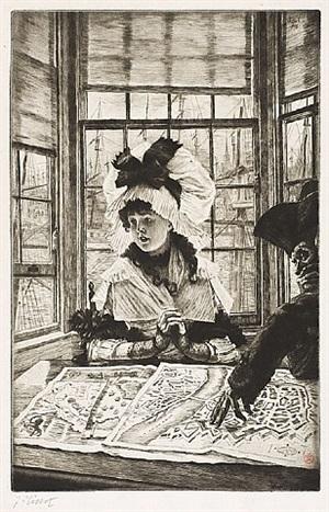 histoire ennuyeuse (an uninteresting story)histoire ennuyeuse (an uninteresting story) by james jacques joseph tissot