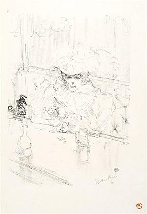 au hanneton (in the hanneton) by henri de toulouse-lautrec