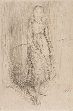florence leyland by james abbott mcneill whistler