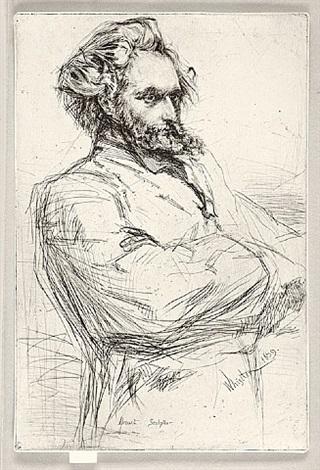 drouet by james abbott mcneill whistler