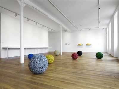 installation view of gravity's rainbow, ingleby gallery (21 may - 30 july 2011)