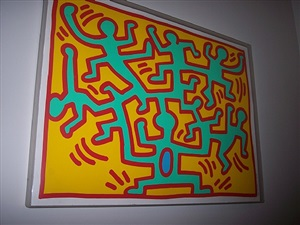 growing suite # 4 by keith haring