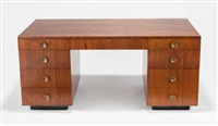 executive desk by gilbert rohde