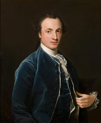 portrait of thomas thornhill esq. by pompeo girolamo batoni