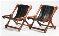 sling chair (set of two) by don shoemaker
