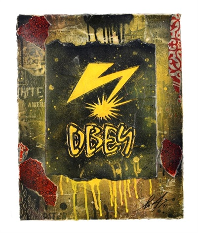 obey bad brains by shepard fairey