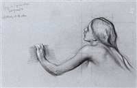 study of a nymph by herbert james draper