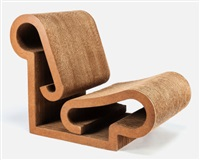 contour (lounge chair) by frank gehry