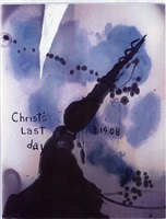 christ's last day atto ii by julian schnabel