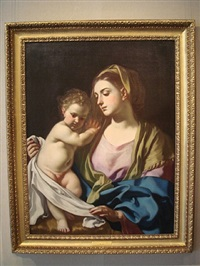 the madonna and child by francesco solimena
