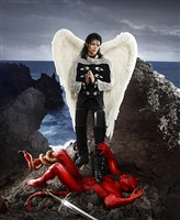 archangel michael: and no message could have been any clearer by david lachapelle