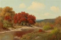 autumn landscape by palmer chrisman