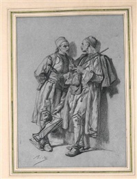 deux albanais by alexandre bida