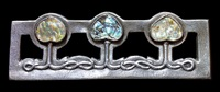 important glasgow style brooch by edgar gilstrap simpson