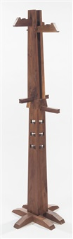 coat rack (from the wood series) by xue wenjing