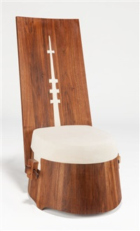 chair (from the wood series) by xue wenjing