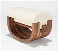 ottoman (from the wood series) by xue wenjing