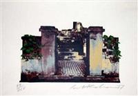 oxford gardens iv (gate steps) by ivor abrahams
