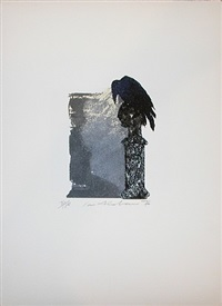 poe portfolio, the raven by ivor abrahams