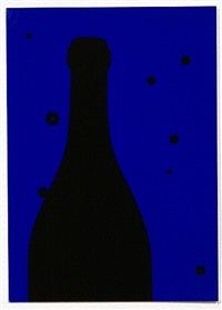 night sky (from eighteen small prints) by patrick caulfield