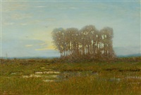 moonlight on the marshes by robertson k. mygatt