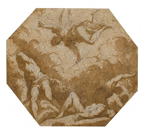 the fall of the rebel angels by jacopo palma il giovane