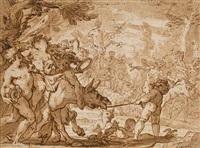 the triumph of bacchus by domenico piola