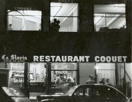 restaurant coquet, paris by sabine weiss