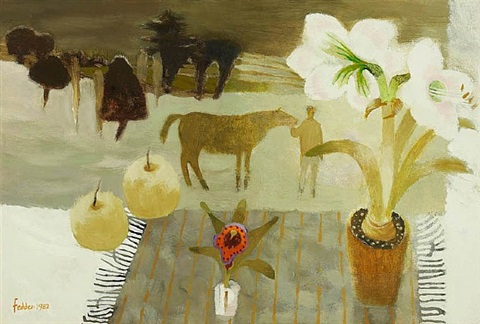 fred's orchid by mary fedden