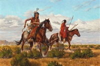 leaving the hunt by roy lee ward