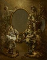 allégorie royale (?) by charles de la fosse