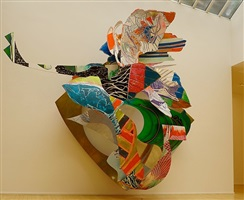 midnight, on the forecastle (c34, 2x) by frank stella