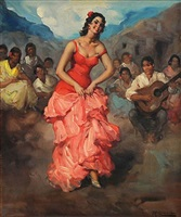 flamenco dancer by francisco rodriguez sanchez clement