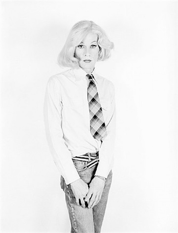 altered image / andy in drag by christopher makos